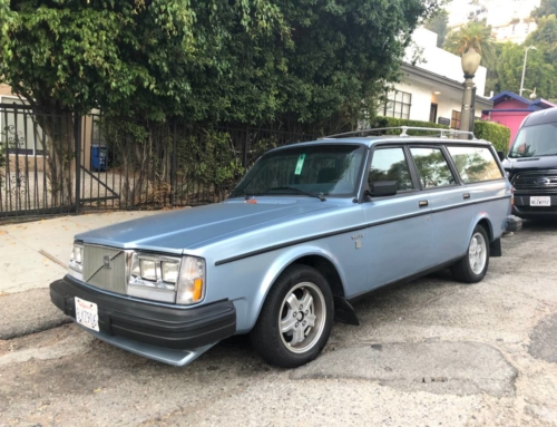 Wait, how much? 1981 Volvo 245 GLT edition