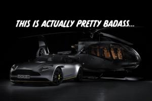 Aston Martin teams up with... Airbus?