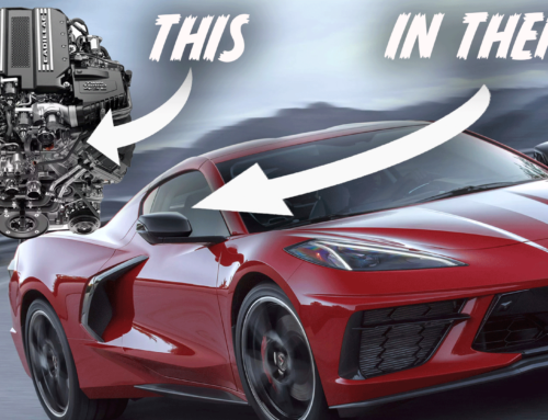 Is the Corvette's Flat-Plane DOHC V8 Related to Cadillac's Blackwing?