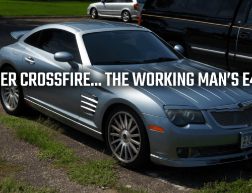 Pre-Recession Chrysler's Crossfire SRT-6: The Working Man's E46 M3?