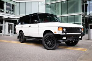 This Range Rover Classic gets the restomod treatment