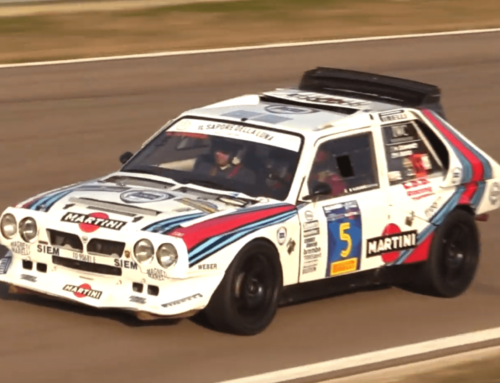 Listen to the Lancia Delta S4 sing you the song of its people