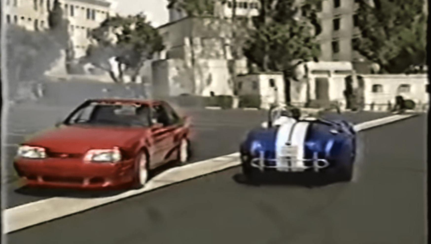 tim allen and jay leno drag race