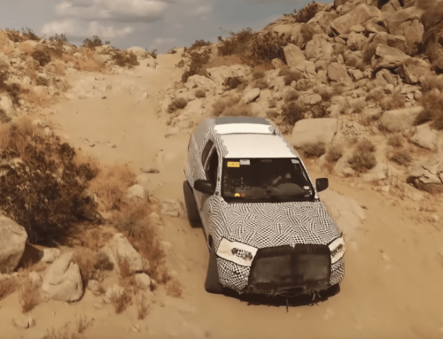 Ford releases Bronco prototype test video