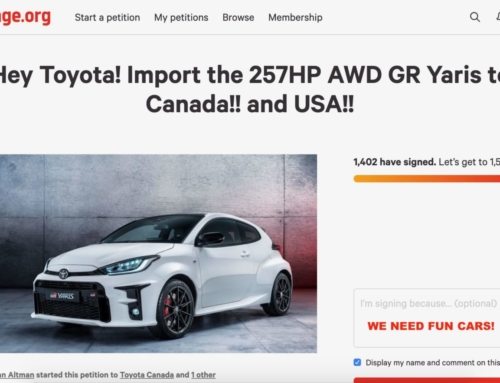 GR Yaris – Bring it here Toyota, sign the petition!