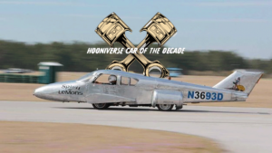 The Hooniverse Car of the Decade is... an airplane on a van chassis