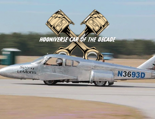 The Hooniverse Car of the Decade is… an airplane on a van chassis