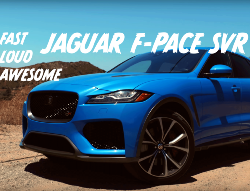 Jaguar F-Pace SVR: Luxury Hooliganism