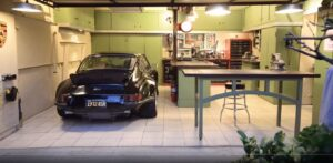 It's a two-car garage, that's all it is...