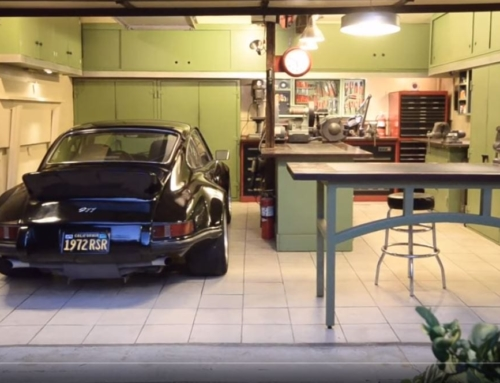 It's a two-car garage, that's all it is…