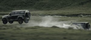 Land Rover Defender put in Full Send Mode for new Bond film No Time to Die