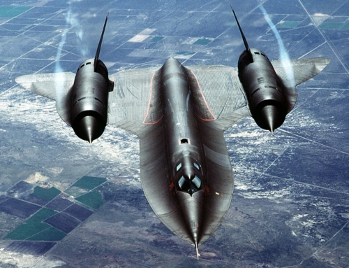 The SR-71 Blackbird is the best hot rod ever built