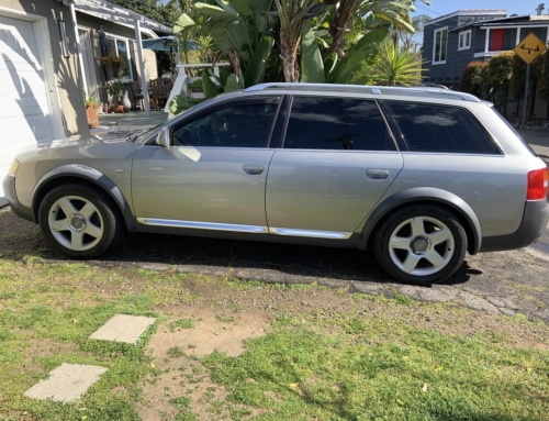 Tempting and Terrible: This 2003 Audi Allroad with a manual transmission
