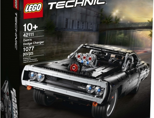 LEGO will make Dom Toretto's Dodge Charger