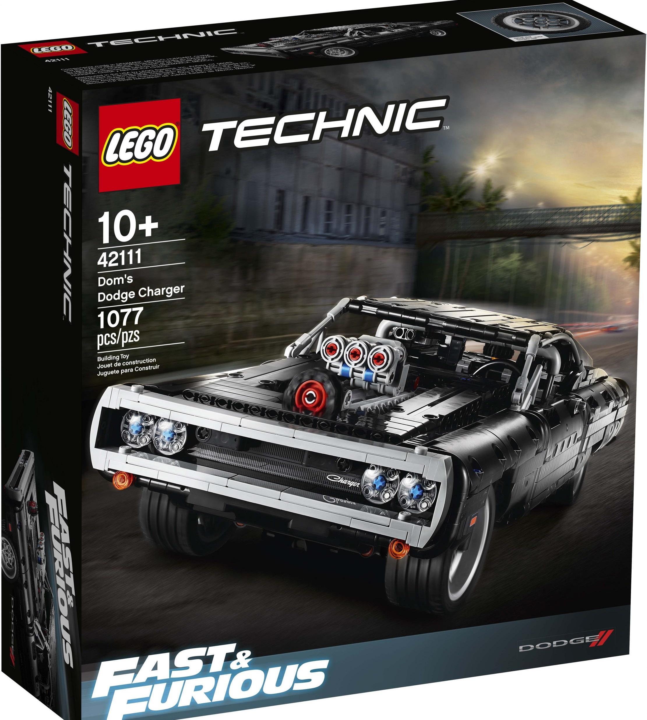 LEGO Dom Toretto's Dodge Charger technic