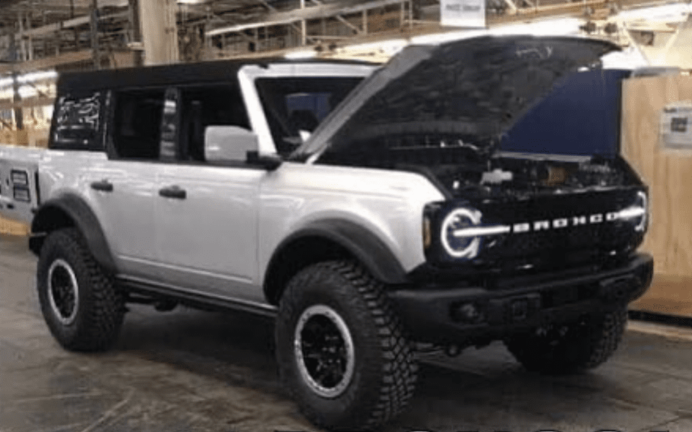 2021 Ford Bronco Leaked