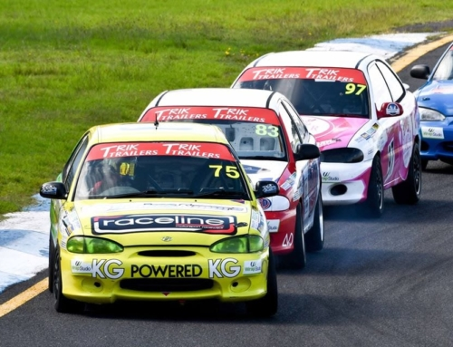 There is a Hyundai Accent race series in Australia and it's glorious