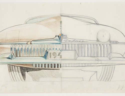 The Cooper-Hewitt Has an Awesome Online Collection of Behind-the-Scenes Automobilia