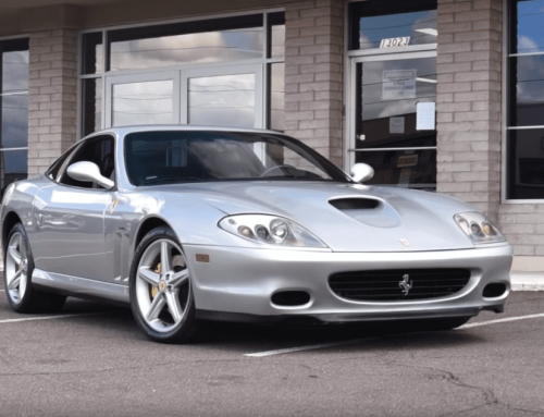 Regular Car Reviews examines the Ferrari 575 Maranello