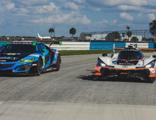 Acura let two of its race car drivers swap rides and the result was interesting