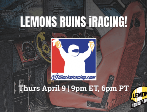 Brace Yourselves for the LeMons iRacing League