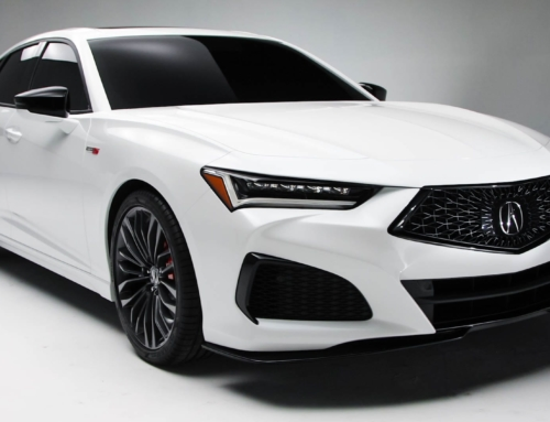 This is the 2021 Acura TLX Type S (and the normal one is here too…)