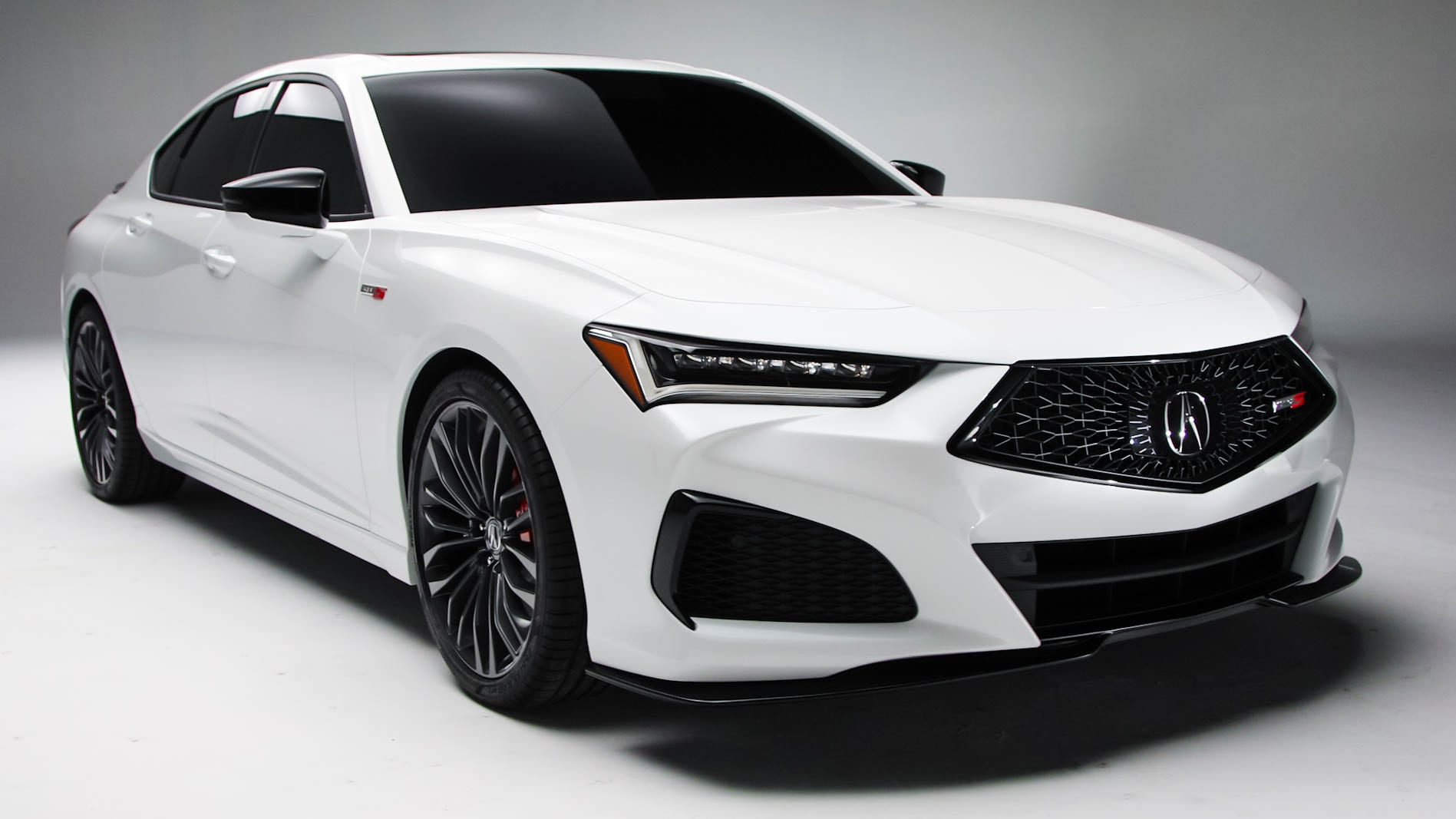 The 2021 Acura TLX Type S in white