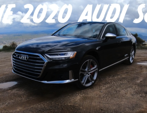 Locked down with the 2020 Audi S8