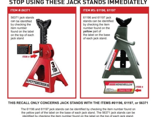 Harbor Freight recalls jack stands over potential for sudden collapse