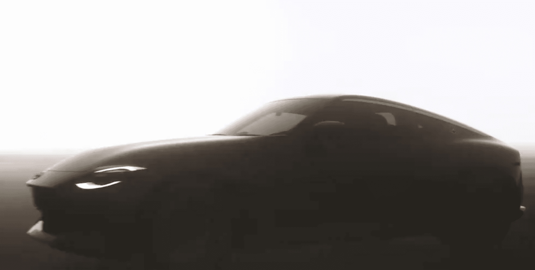 Teaser of the next Nissan Z