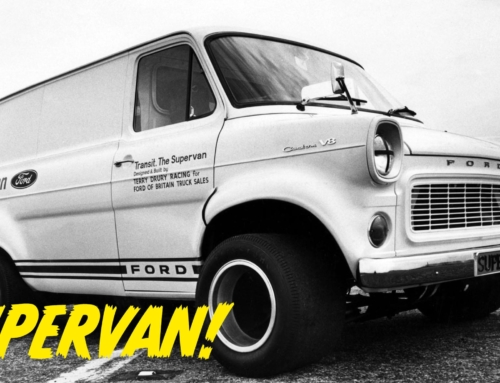 The time Ford built a V8 Supervan on a GT40 chassis