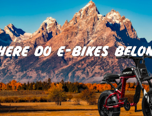 Electric Bikes: Where do they belong?