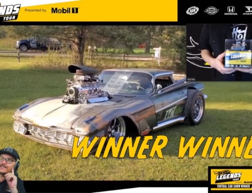Hot Wheels Legends Virtual Car Show Winner