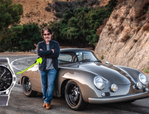 Bid on John Oates' Porsche Design timepiece for a charitable cause