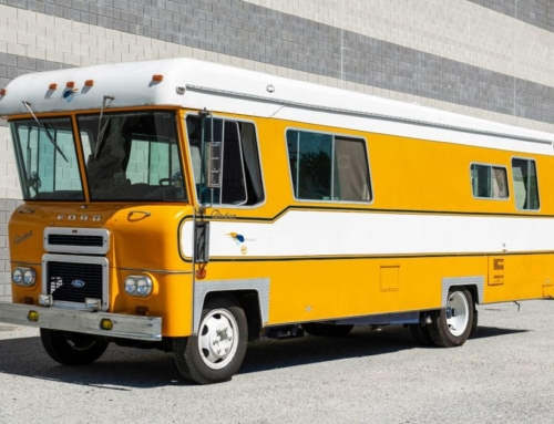 Ex-McLaren Engines Ford Motorcoach is one of the coolest vehicles ever listed on Bring a Trailer
