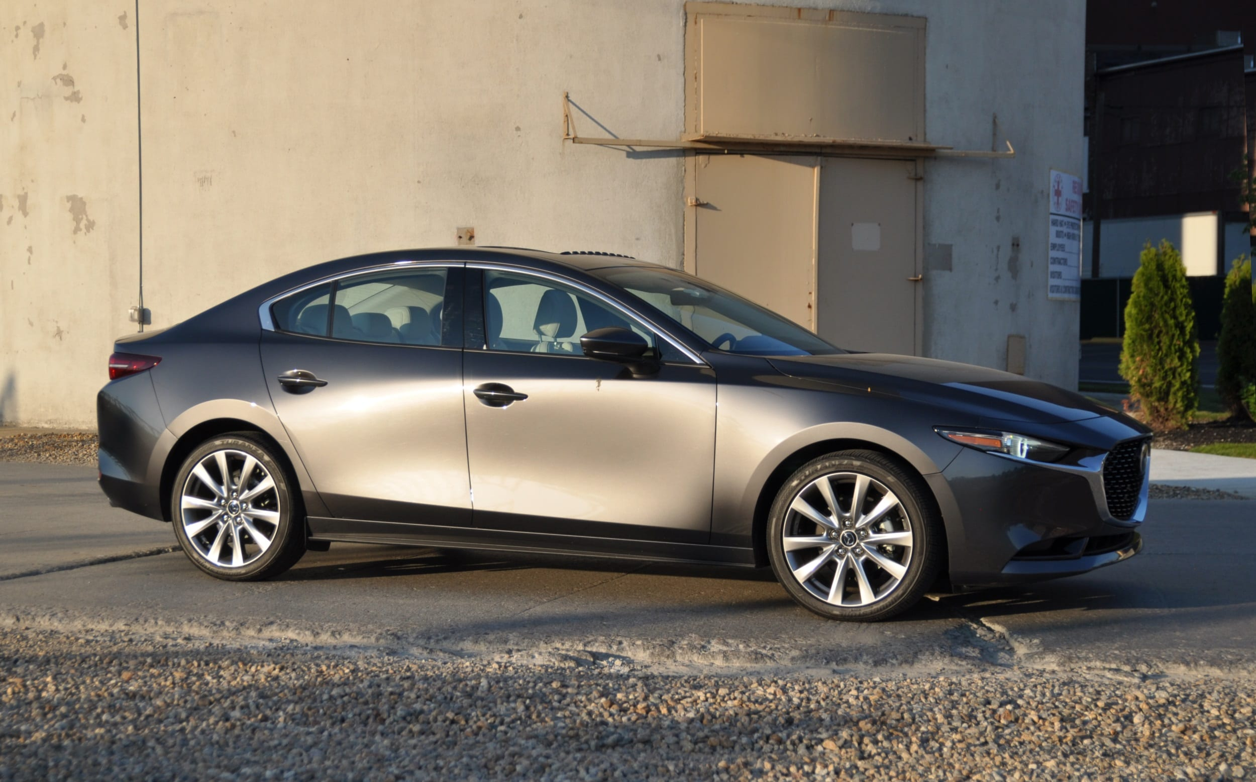mazda3 awd review side