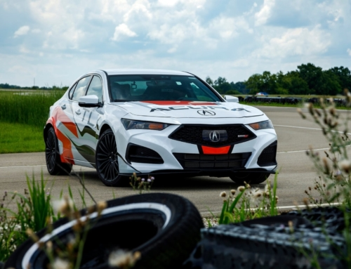 Acura Pike's Peak Pace Car Reveals new TLX Type S Specs