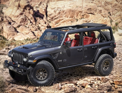 This the Jeep Wrangler Rubicon 392 …concept