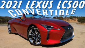 2021 Lexus LC500 Convertible – First Drive Review