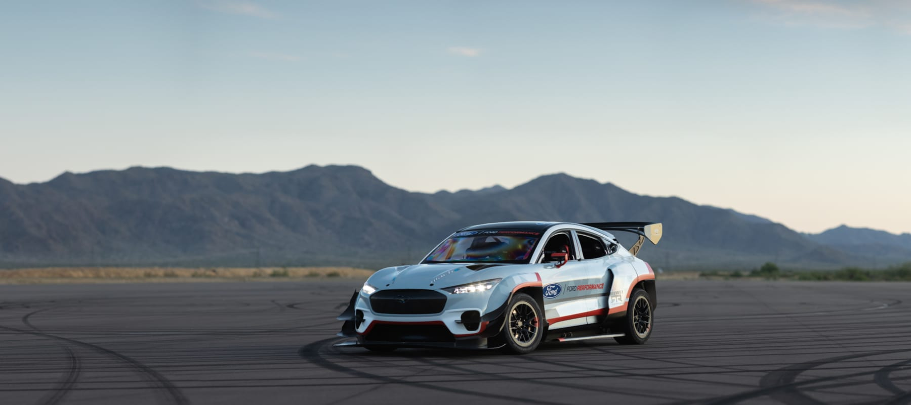 All-Electric Mustang Mach-E 1400 Prototype