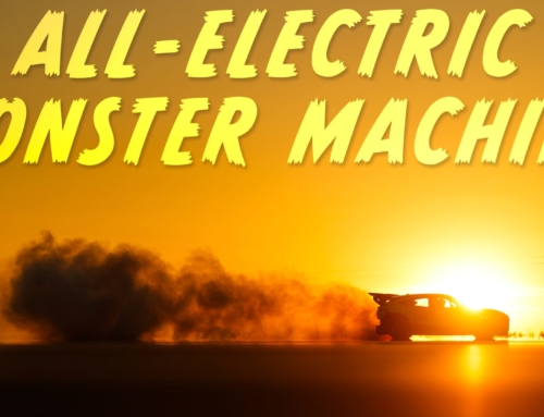 The Ford Mustang Mach-E 1400 is a seven-motor electric monster machine