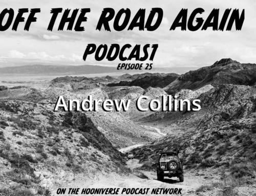 Off The Road Again Podcast: Andrew Collins – Episode 25