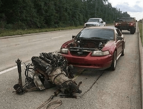Last Call: Theres no better time to engine swap than on the side of the road