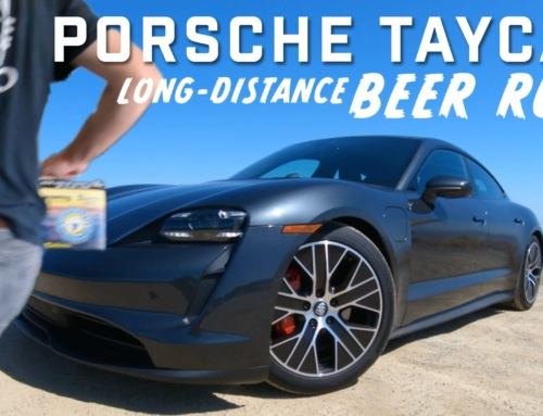 Porsche Taycan 4S – Long-Distance Beer Run!