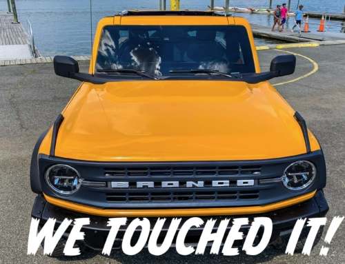 The 2021 Ford Bronco – We Touched It!