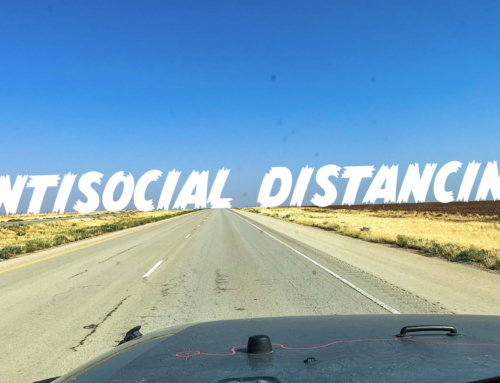 More Antisocial Distancing – Driving Cross Country