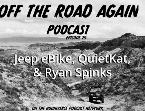 Off The Road Again Podcast: QuietKat, Jeep eBike, & Ryan Spinks – Episode 29