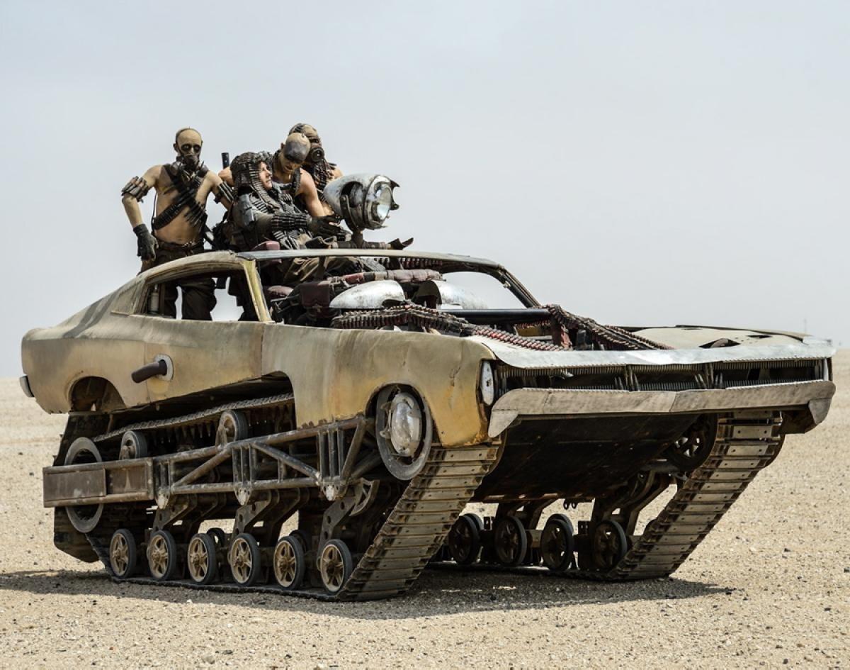 a Fury Road tank car