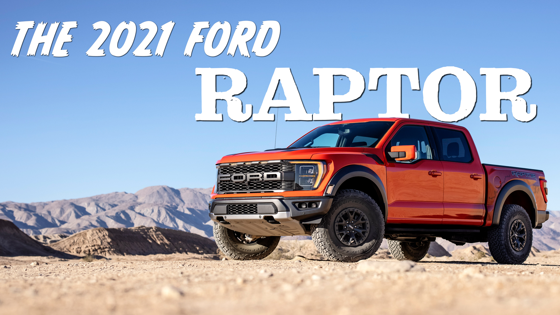 2021 ford raptor is all new