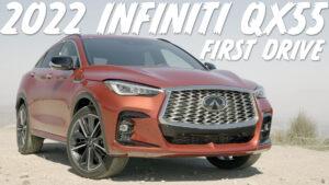 First Drive: 2022 Infiniti QX55